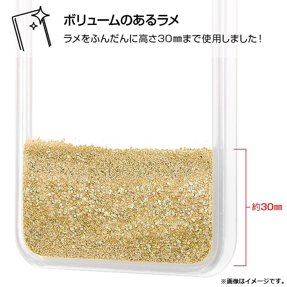 iPhone 12 Pro Max/『ディズニーキャラクター』/ラメ グリッターケース/『ティンカー・ベル/Sit』【受注生産】