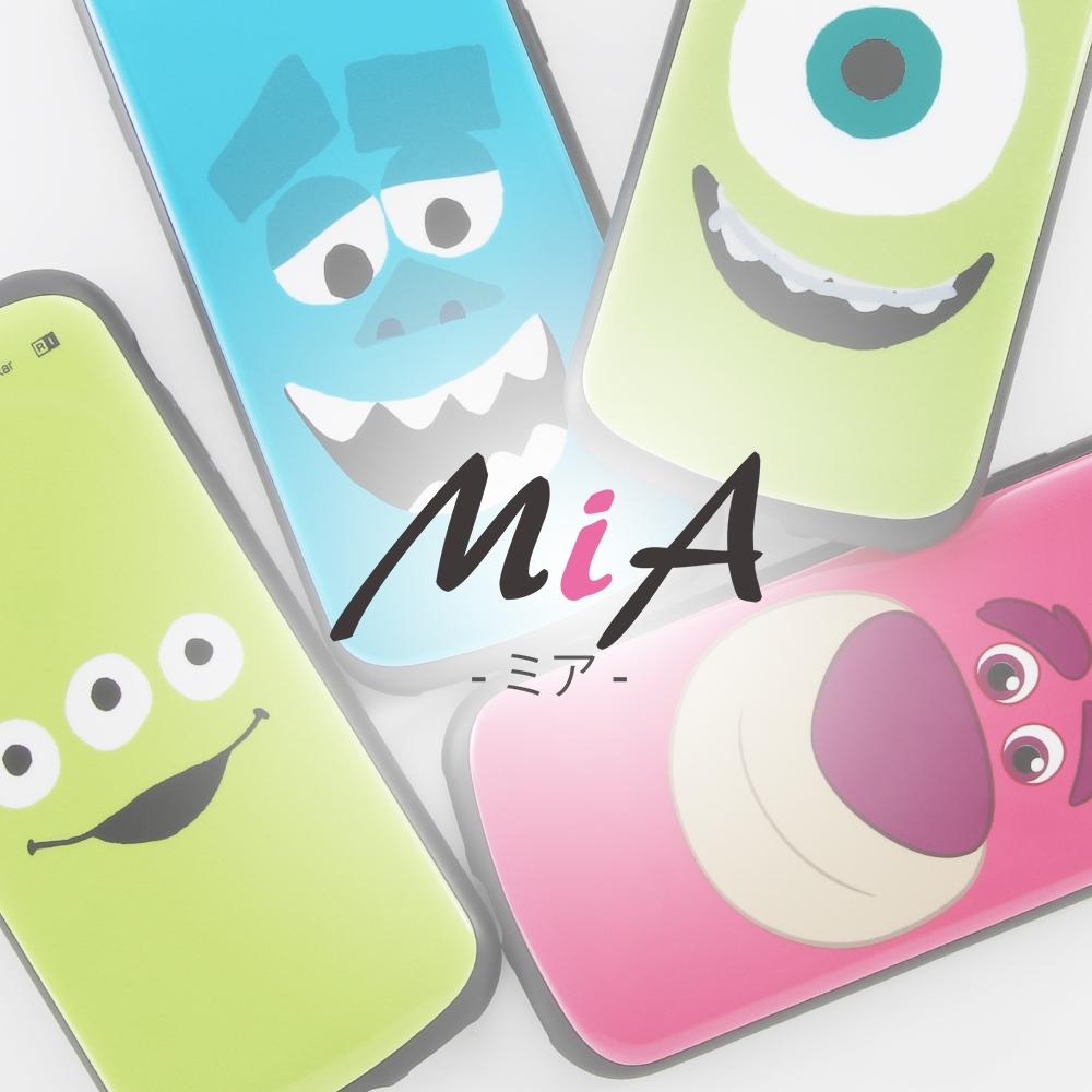 Galaxy A21/Galaxy A20 『ディズニー・ピクサーキャラクター』/耐衝撃ケース MiA/『マイク/フェイスアップ』