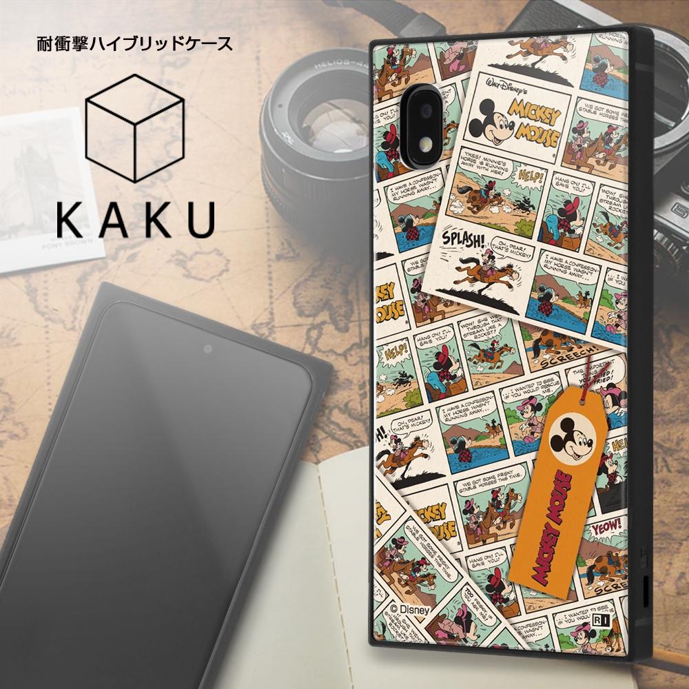 Galaxy A21/A20 /『ディズニーキャラクター』/耐衝撃ハイブリッドケース KAKU/『ミッキーマウス/comic』【受注生産】