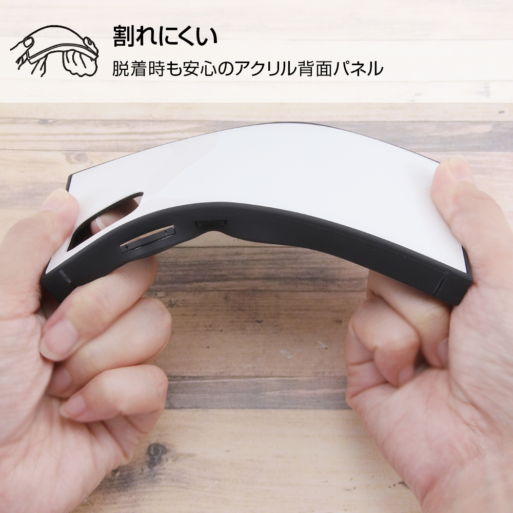 Galaxy A51 5G /『ディズニーキャラクター』/耐衝撃ハイブリッドケース KAKU/『チップとデール/Little Chipmunk』【受注生産】