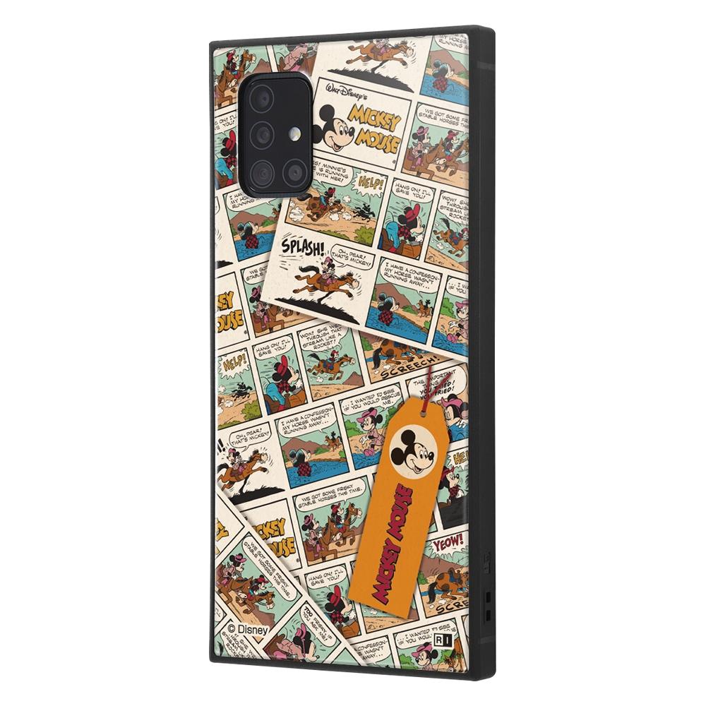 Galaxy A51 5G /『ディズニーキャラクター』/耐衝撃ハイブリッドケース KAKU/『ミッキーマウス/comic』【受注生産】