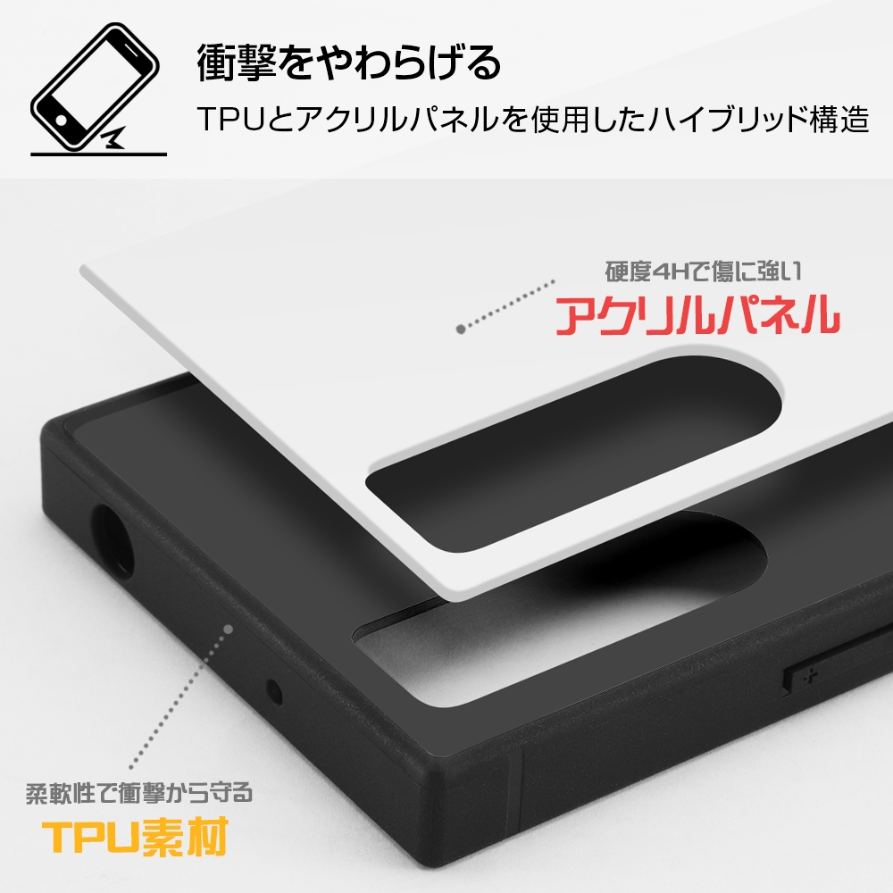 Xperia 5 II /『ディズニーキャラクター』/耐衝撃ハイブリッドケース KAKU/『チップ&デール/I AM』【受注生産】