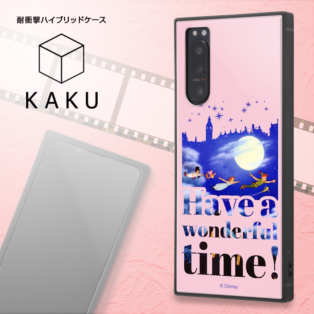 Xperia 5 II /『ディズニーキャラクター』/耐衝撃ハイブリッドケース KAKU/『バンビ/Famous scene』【受注生産】