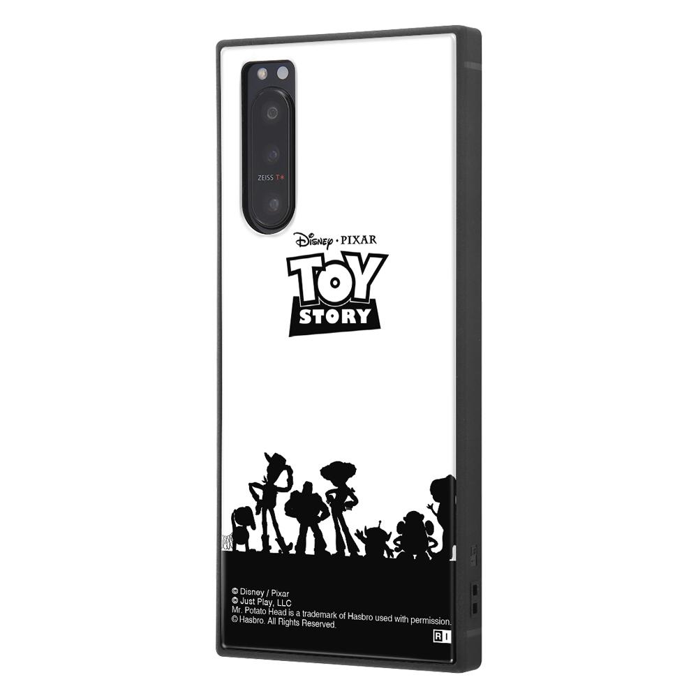 Xperia 5 II /『ディズニー・ピクサーキャラクター』/耐衝撃ハイブリッドケース KAKU/『トイ・ストーリー/シルエット』【受注生産】