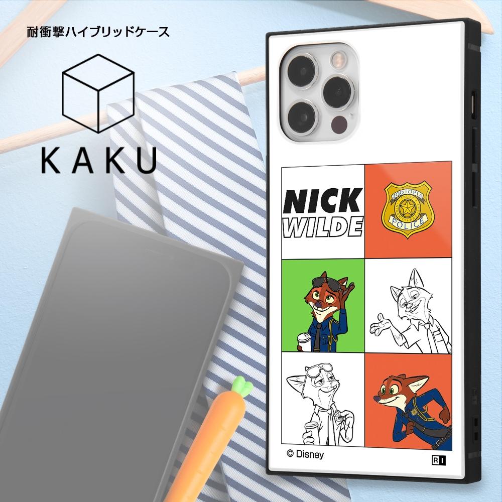 iPhone 12 / 12 Pro /『ディズニーキャラクター』/耐衝撃ハイブリッドケース KAKU/『ニック』_03【受注生産】