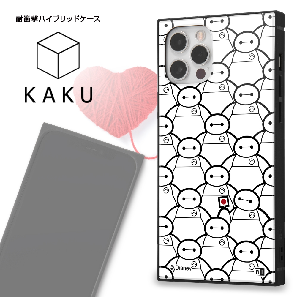 iPhone 12 / 12 Pro /『ディズニーキャラクター』/耐衝撃ハイブリッドケース KAKU/『ベイマックス』_02【受注生産】
