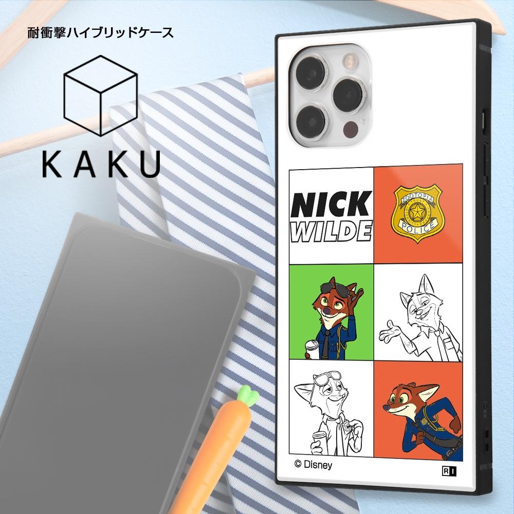 iPhone 12 Pro Max /『ディズニーキャラクター』/耐衝撃ハイブリッドケース KAKU/『ニック/I AM』【受注生産】