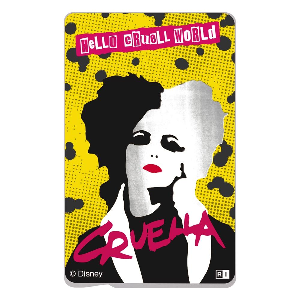 ディズニー映画『Cruella』/ICカードステッカー/『クルエラ』_02