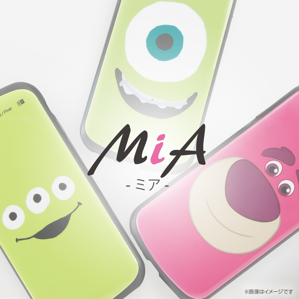 Galaxy S21 5G 『ディズニー・ピクサーキャラクター』/耐衝撃ケース MiA/『エイリアン/フェイスアップ』