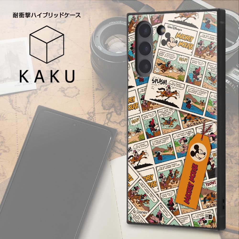 Galaxy S21 5G /『ディズニーキャラクター』/耐衝撃ハイブリッドケース KAKU/『ミニーマウス/comic』【受注生産】