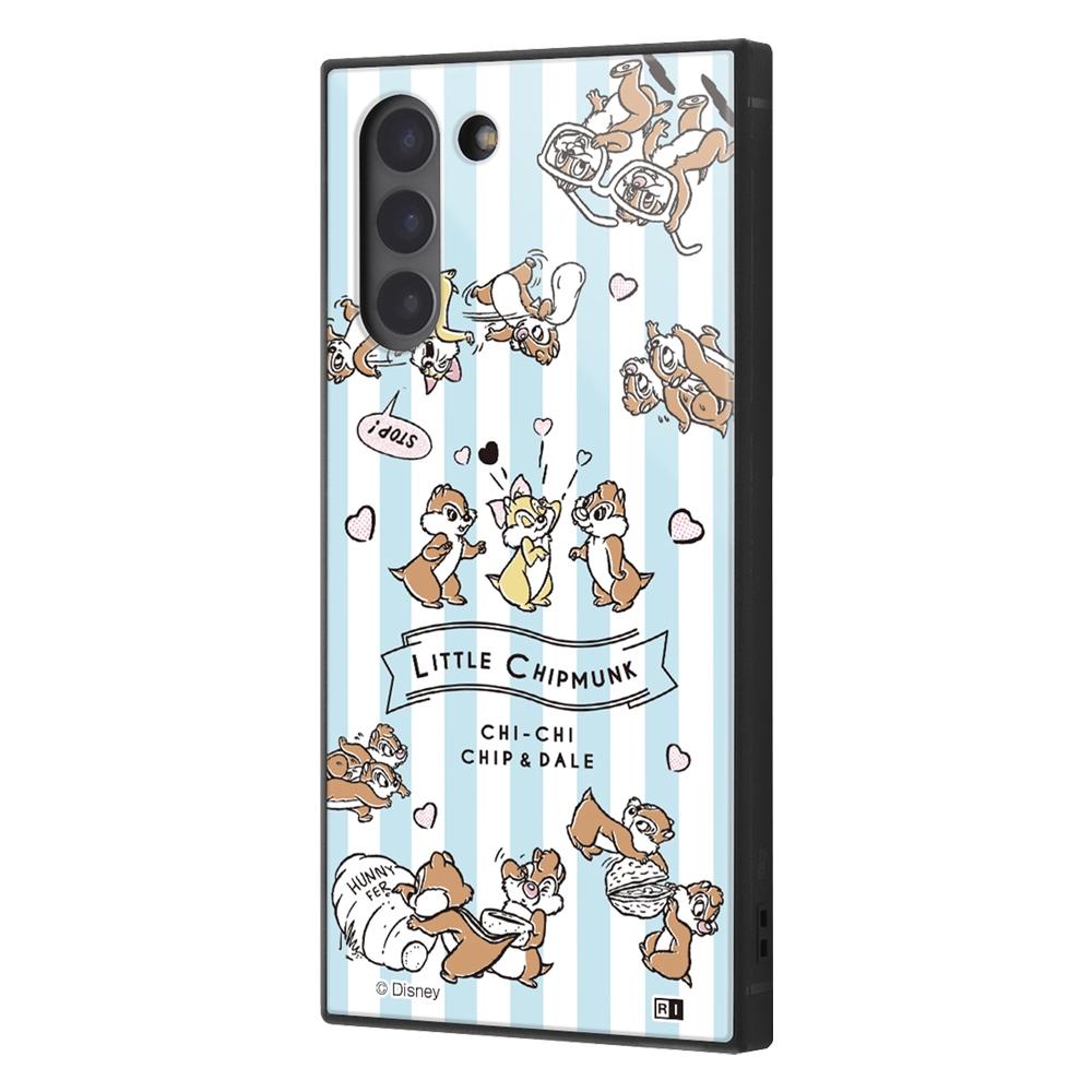 Galaxy S21 5G /『ディズニーキャラクター』/耐衝撃ハイブリッドケース KAKU/『チップとデール/Little Chipmunk』【受注生産】