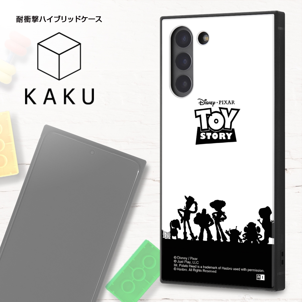 Galaxy S21 5G /『ディズニー・ピクサーキャラクター』/耐衝撃ハイブリッドケース KAKU/『トイ・ストーリー/総柄』【受注生産】