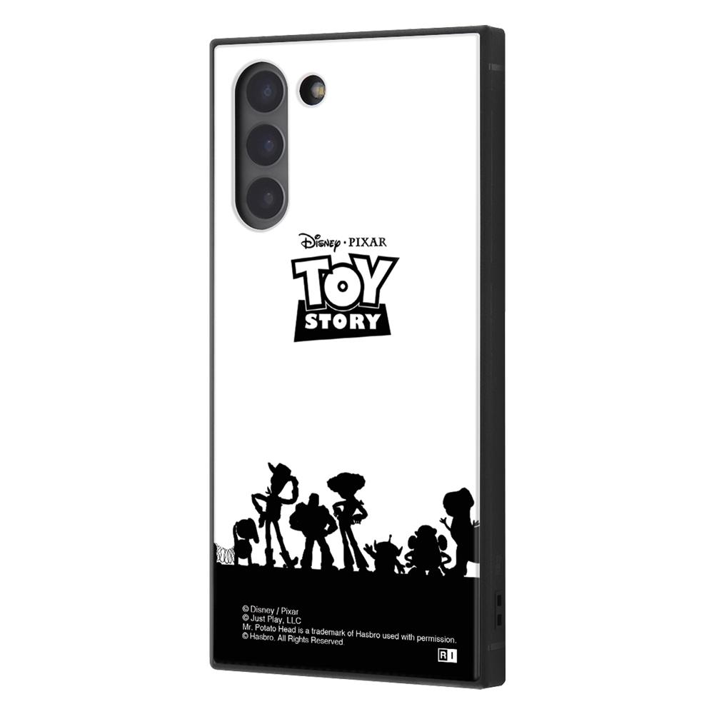 Galaxy S21 5G /『ディズニー・ピクサーキャラクター』/耐衝撃ハイブリッドケース KAKU/『トイ・ストーリー/シルエット』【受注生産】