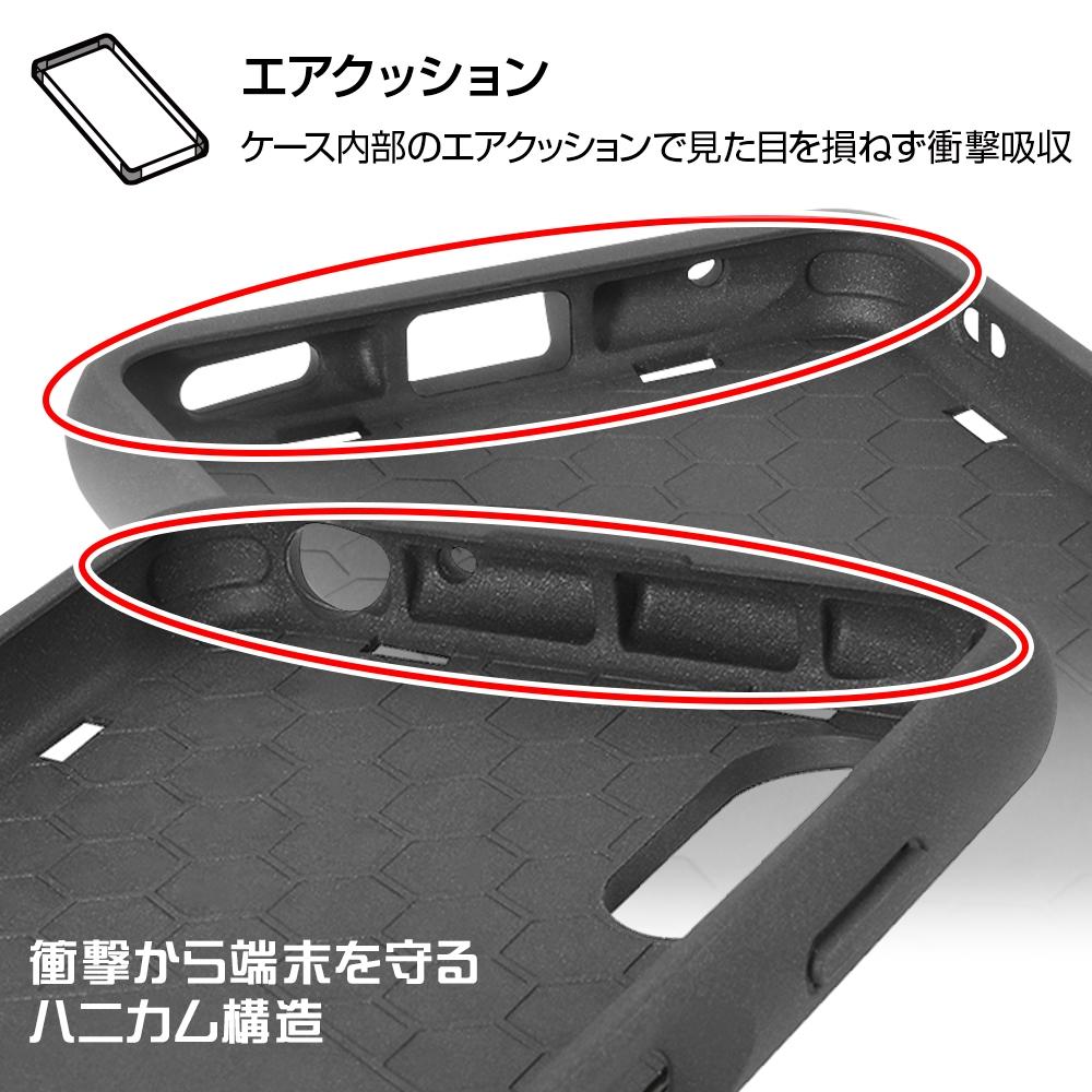 Xperia Ace II 『ディズニー・ピクサーキャラクター』/耐衝撃ケース MiA/マイク/フェイスアップ