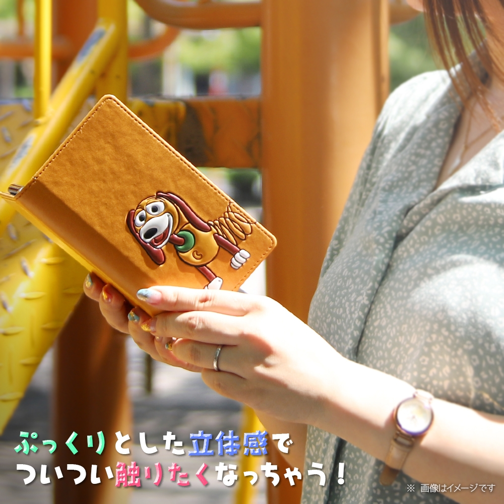 Xperia Ace II 『ディズニー・ピクサーキャラクター』/手帳型 FLEX CASE ポップアップ/『ハム』