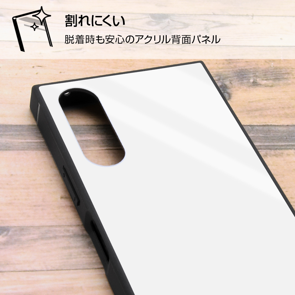 Xperia 10 III /『ディズニーキャラクター』/耐衝撃ハイブリッドケース KAKU/『ミニーマウス/comic』【受注生産】