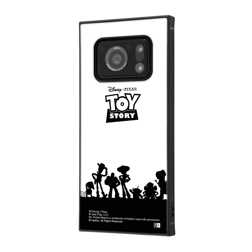 AQUOS R6/『ディズニー・ピクサーキャラクター』/耐衝撃ハイブリッドケース KAKU/『トイ・ストーリー/シルエット』【受注生産】