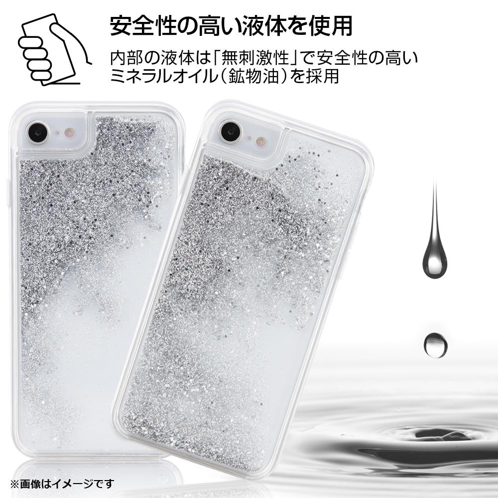 iPhone SE(第2世代) / 8 / 7 / 6s / 6 / 『ディズニーキャラクター』/ラメ グリッターケース/お城