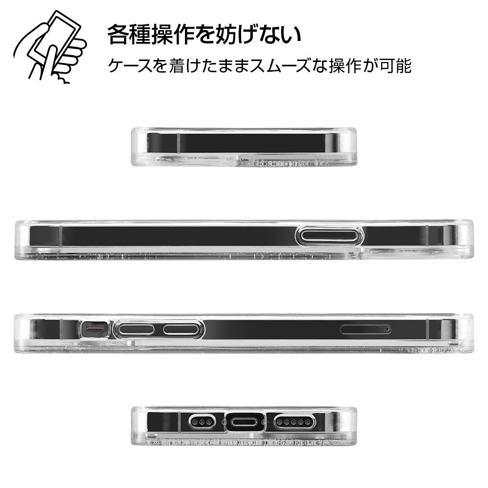 iPhone 12 / 12 Pro / 『ディズニーキャラクター』/ラメ グリッターケース/お城