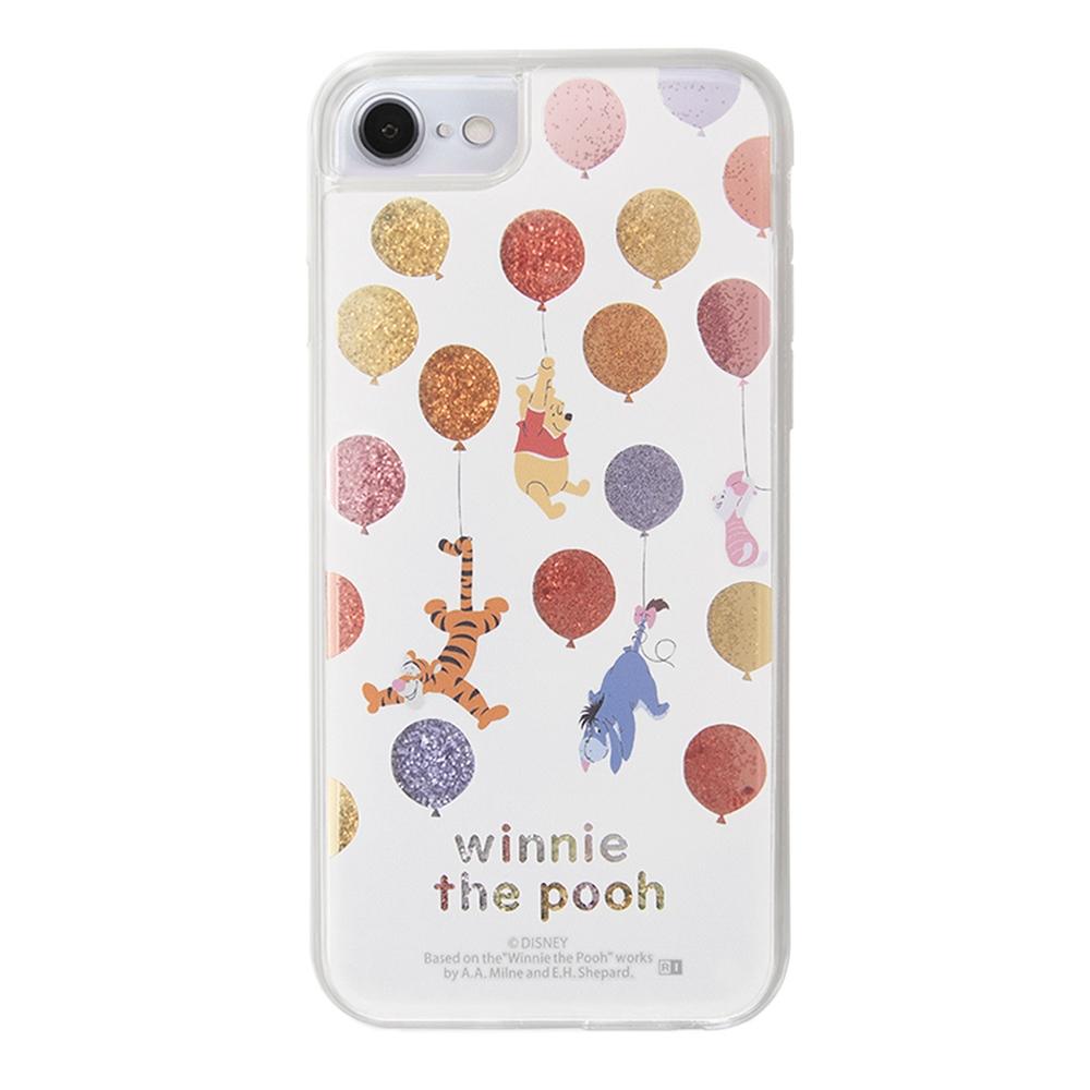 iPhone SE(第2世代) / 8 / 7 / 6s / 6 / 『ディズニーキャラクター』/ラメ グリッターケース/バルーンと仲間達