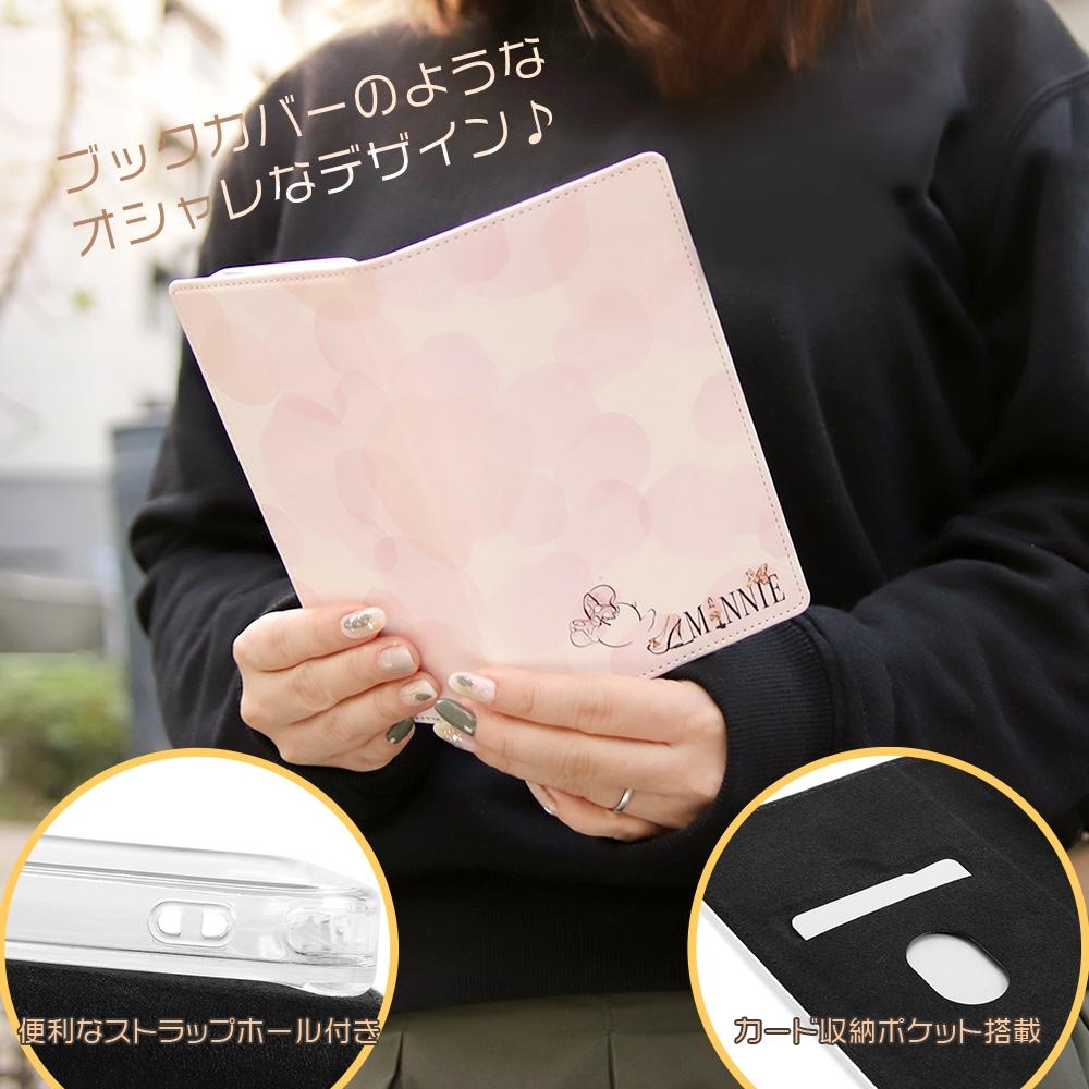 iPhone 13 Pro Max 『ディズニーキャラクター』/手帳型アートケース FLEX CASE/ミニーマウス_016