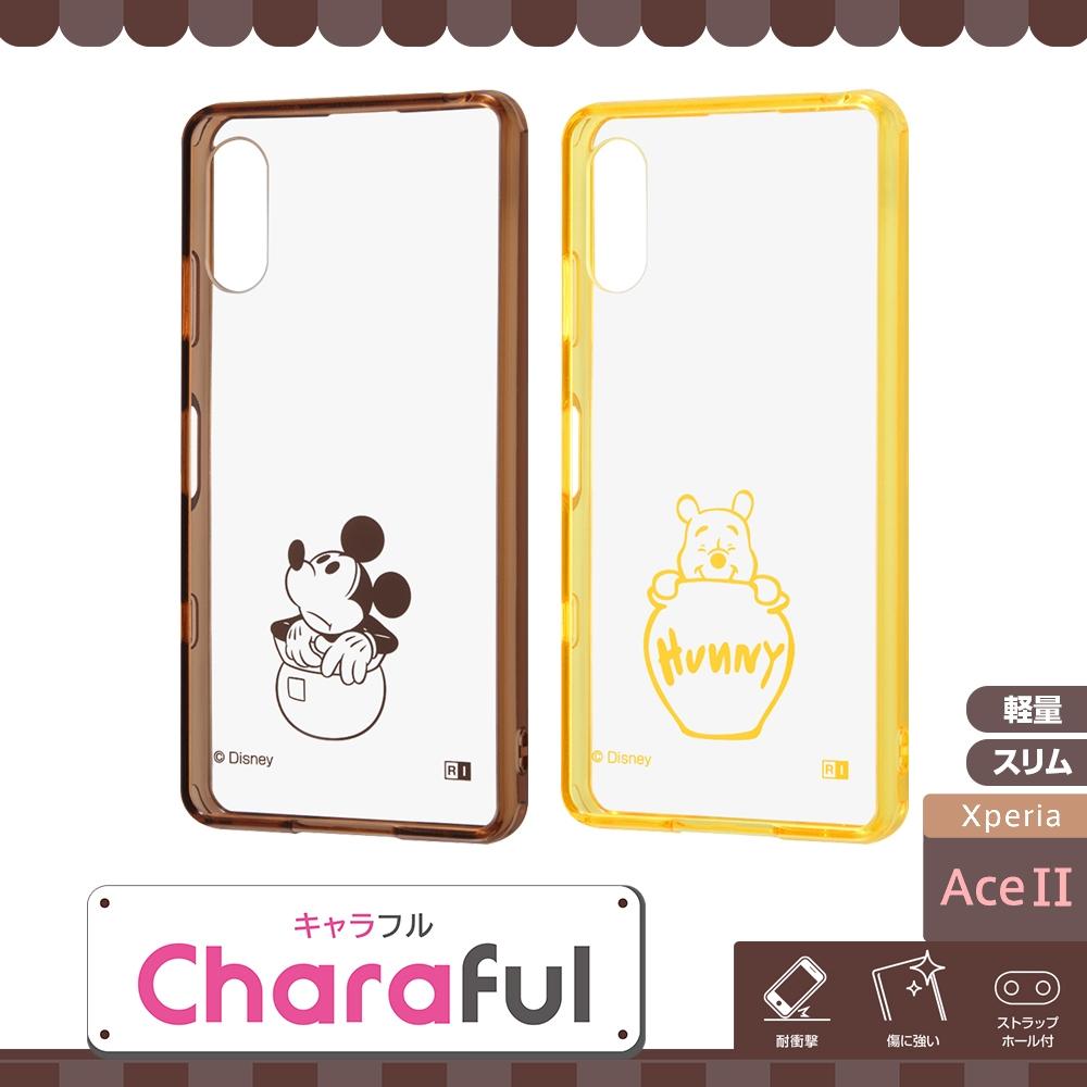 Xperia Ace II 『ディズニーキャラクター』/ハイブリッドケース Charaful/ミッキーマウス