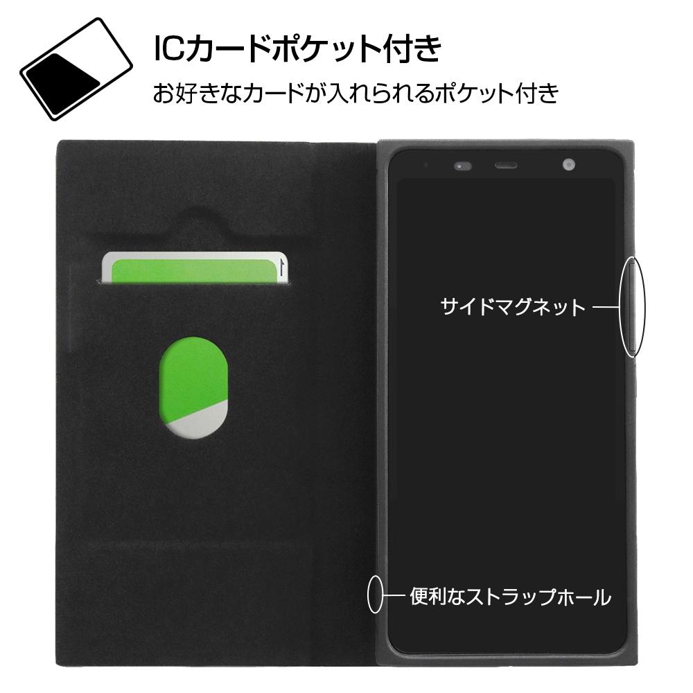 arrows Be4 Plus 『ディズニーキャラクター』/耐衝撃 手帳型レザーケース サイドマグネット/ミッキーマウス