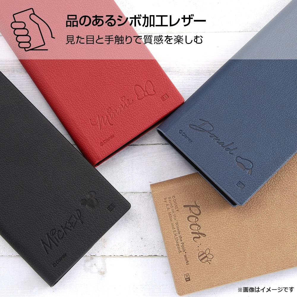 arrows Be4 Plus 『ディズニーキャラクター』/耐衝撃 手帳型レザーケース サイドマグネット/ドナルドダック