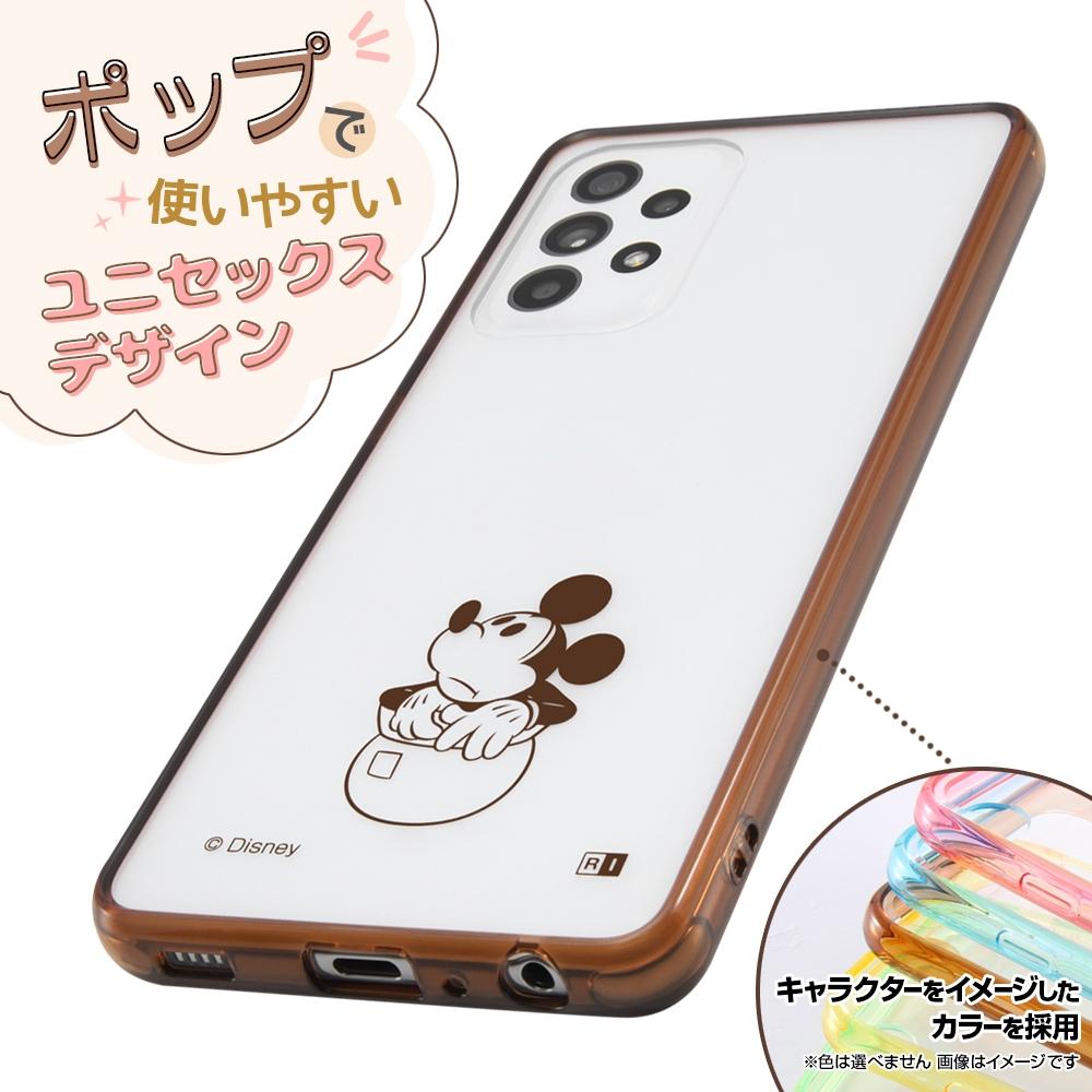 Galaxy A52 5G 『ディズニーキャラクター』/ハイブリッドケース Charaful/プー