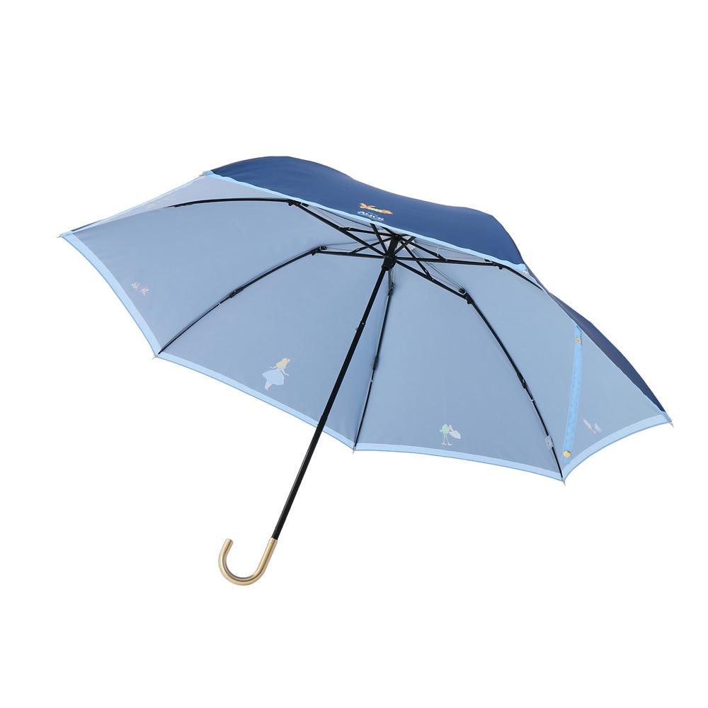 【Plus Anq(プラスアンク)】『ふしぎの国のアリス』デザイン 折りたたみ傘 婦人用【数量限定】