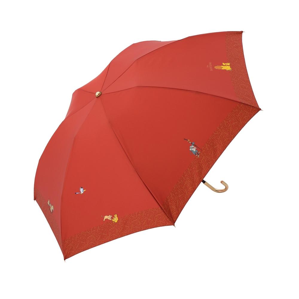【Plus Anq(プラスアンク)】『ライオン・キング』デザイン 折りたたみ傘 婦人用【数量限定】