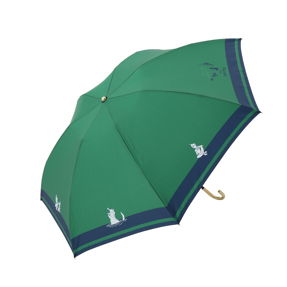 【Plus Anq(プラスアンク)】『ピーター・パン』デザイン 折りたたみ傘 婦人用【数量限定】