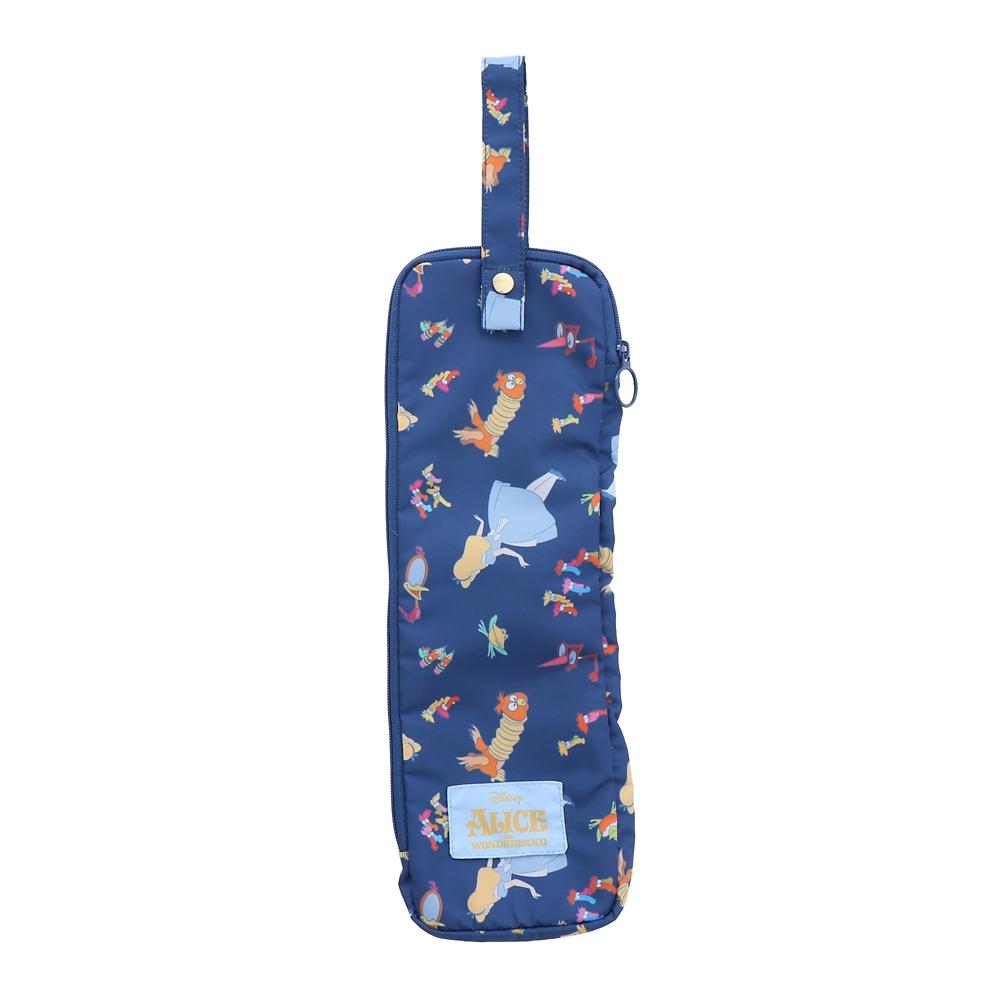 【Plus Anq(プラスアンク)】『ふしぎの国のアリス』デザイン 傘ケース 折りたたみ傘用 婦人用【数量限定】