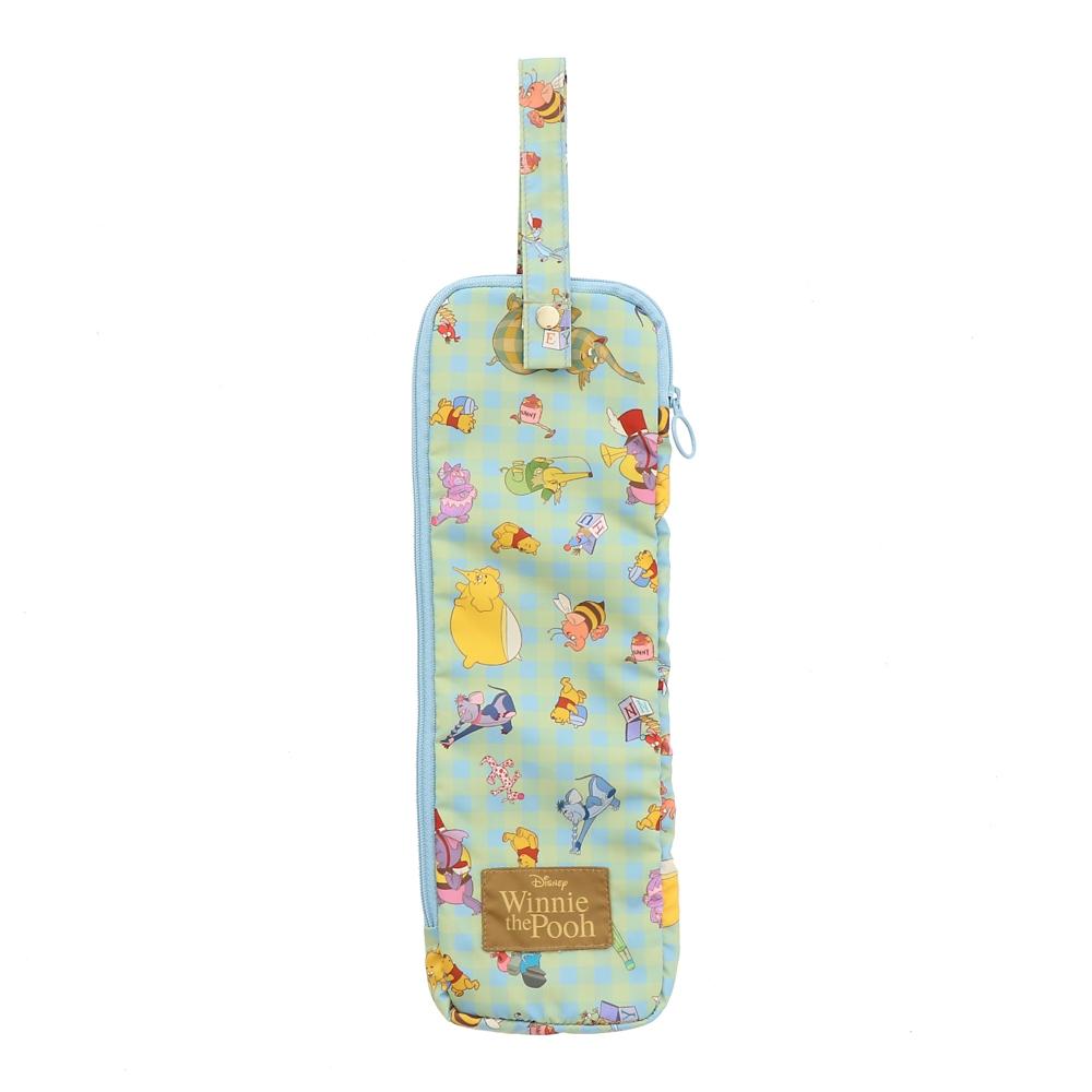 【Plus Anq(プラスアンク)】『くまのプーさん』デザイン 傘ケース 折りたたみ傘用 婦人用【数量限定】