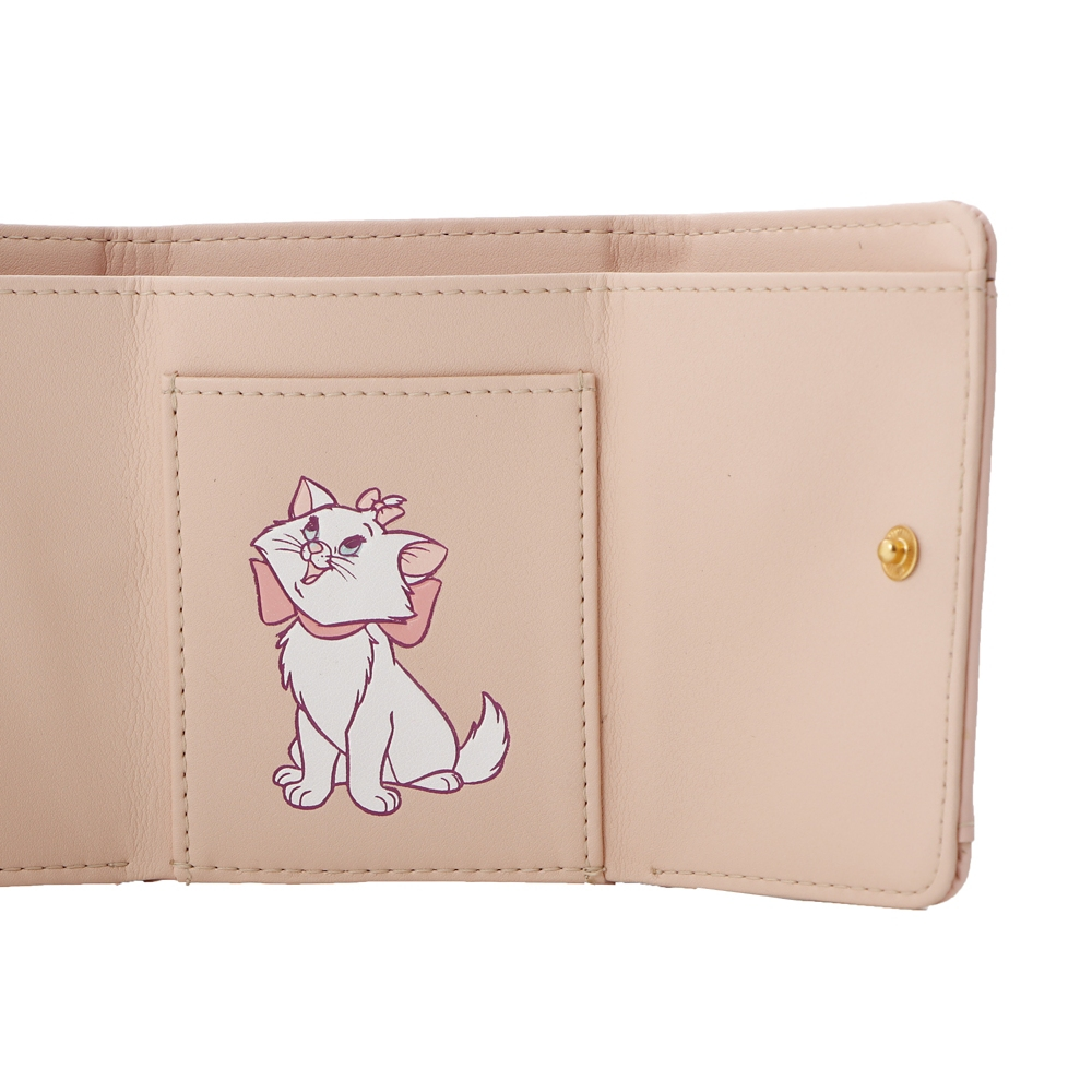 【Plus Anq(プラスアンク)】『おしゃれキャット』デザイン 三つ折り財布 ウォレット 婦人用【数量限定】