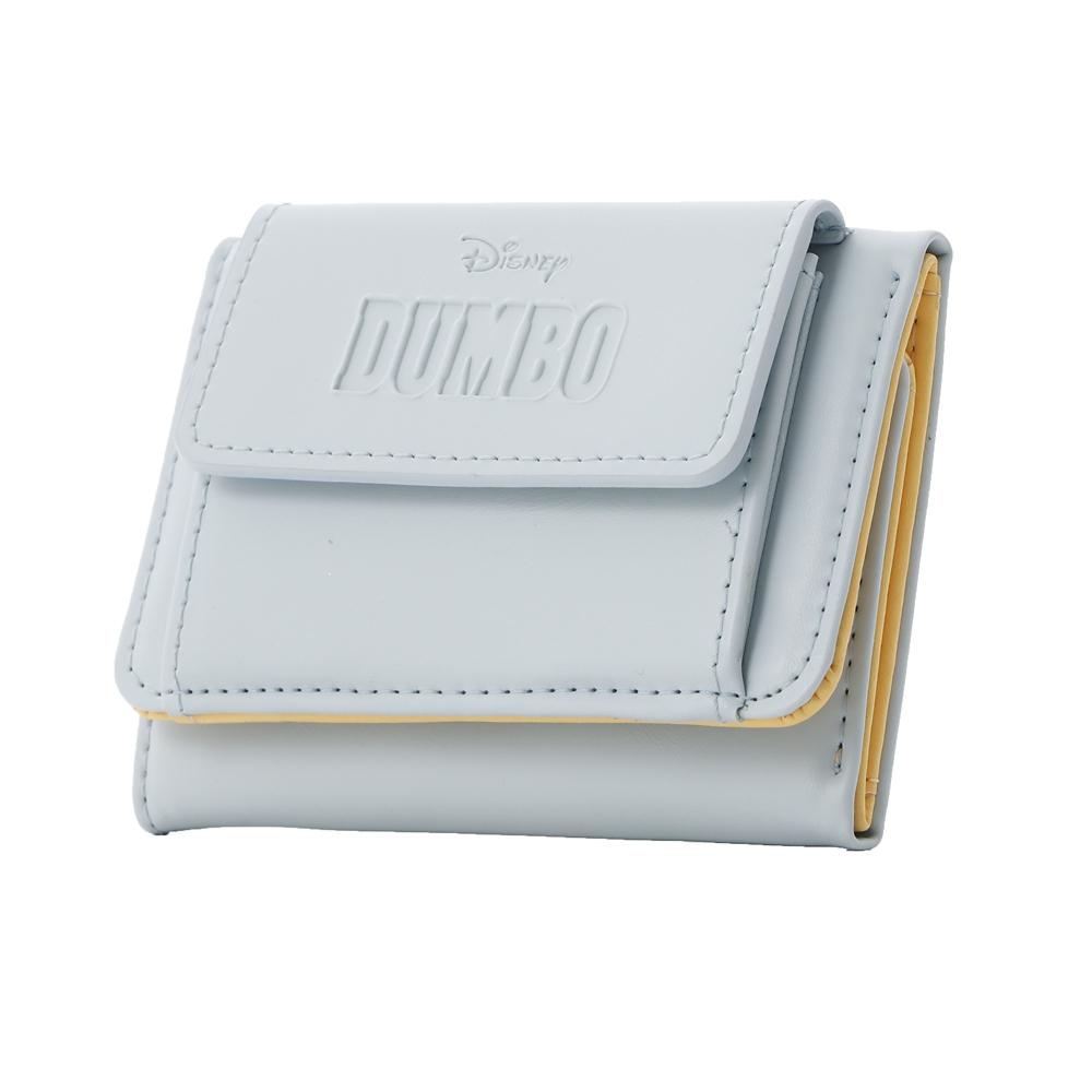 【Plus Anq(プラスアンク)】『ダンボ』デザイン 三つ折り財布 ウォレット 婦人用【数量限定】