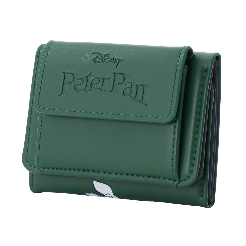 【Plus Anq(プラスアンク)】『ピーター・パン』デザイン 三つ折り財布 ウォレット 婦人用【数量限定】