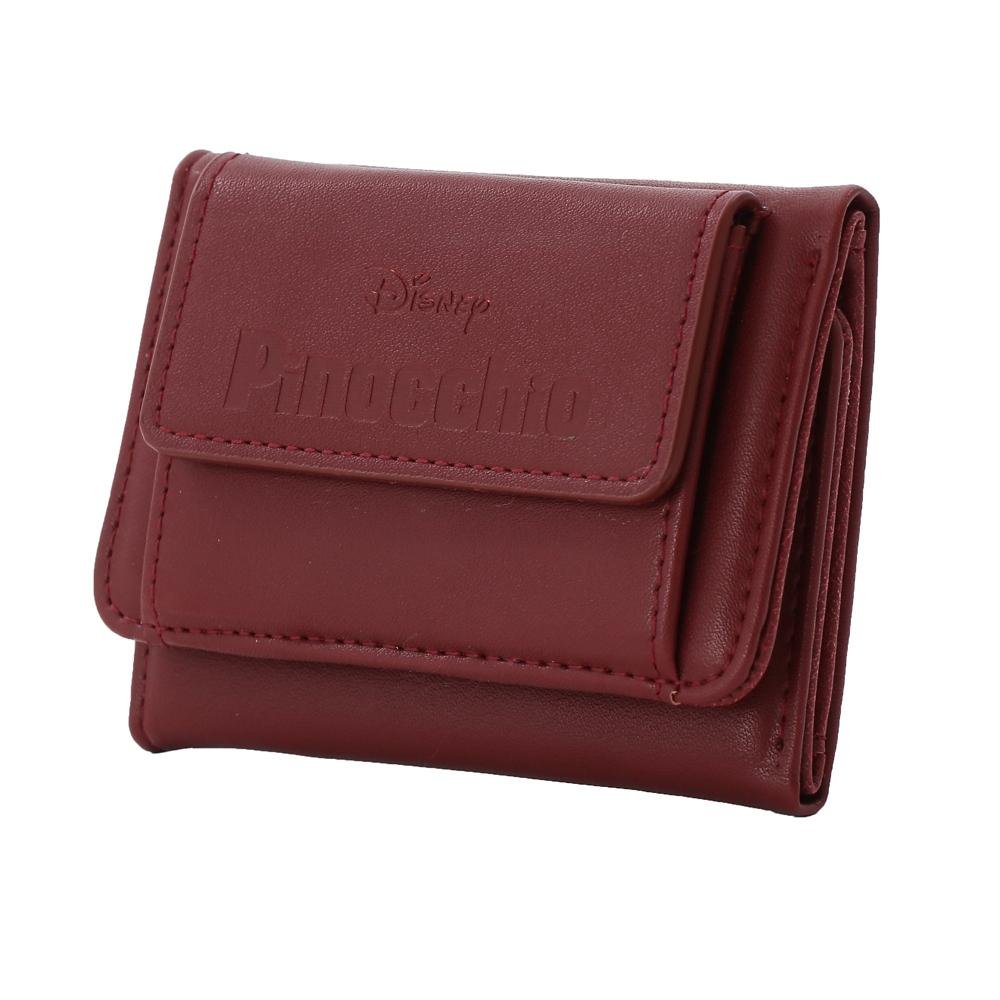 【Plus Anq(プラスアンク)】『ピノキオ』デザイン 三つ折り財布 ウォレット 婦人用【数量限定】