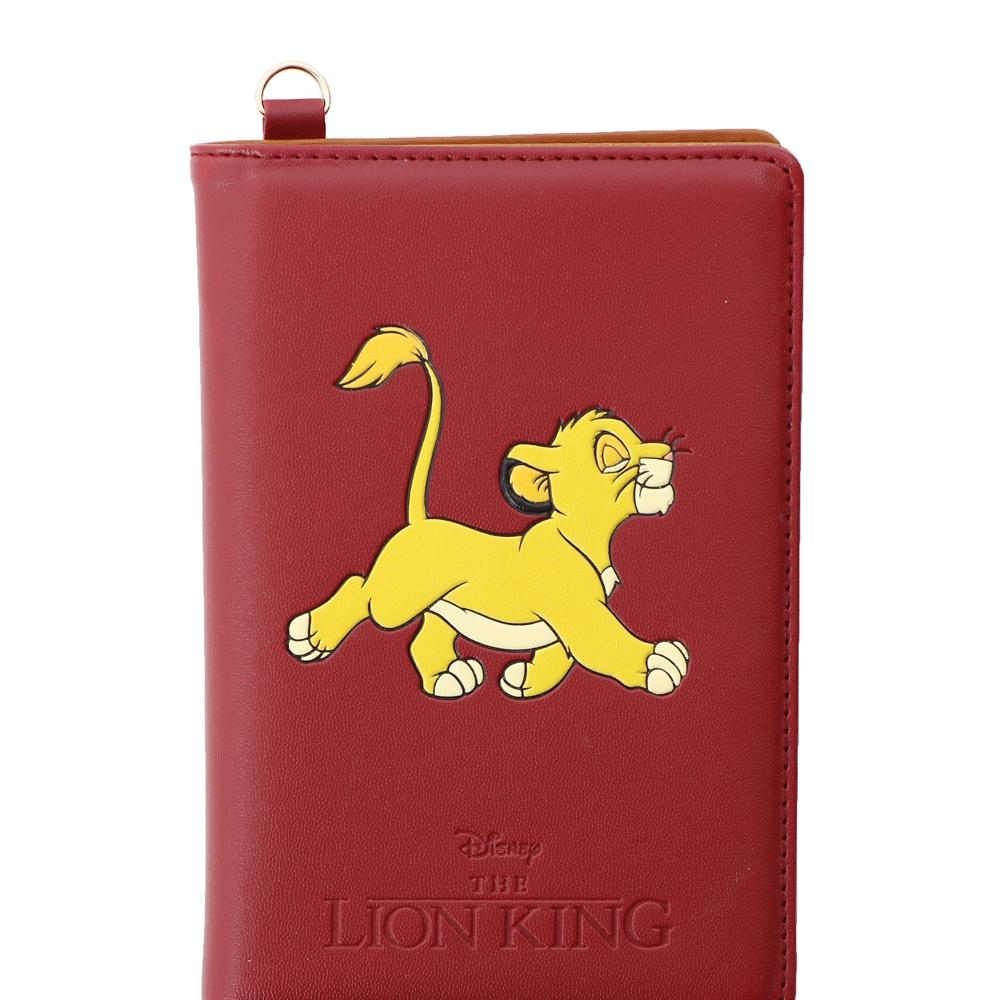 【Plus Anq(プラスアンク)】『ライオン・キング』デザイン パスポートケース【数量限定】