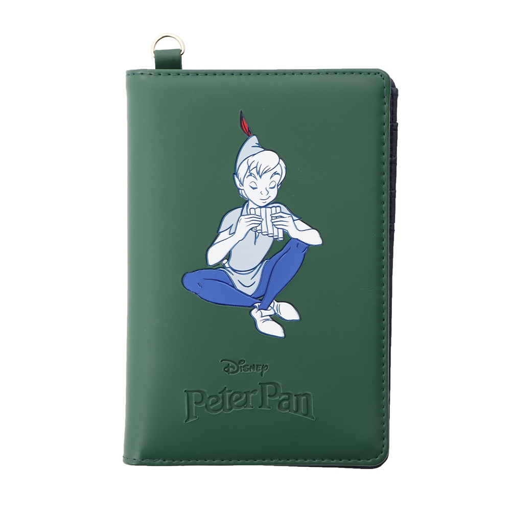 【Plus Anq(プラスアンク)】『ピーター・パン』デザイン パスポートケース【数量限定】