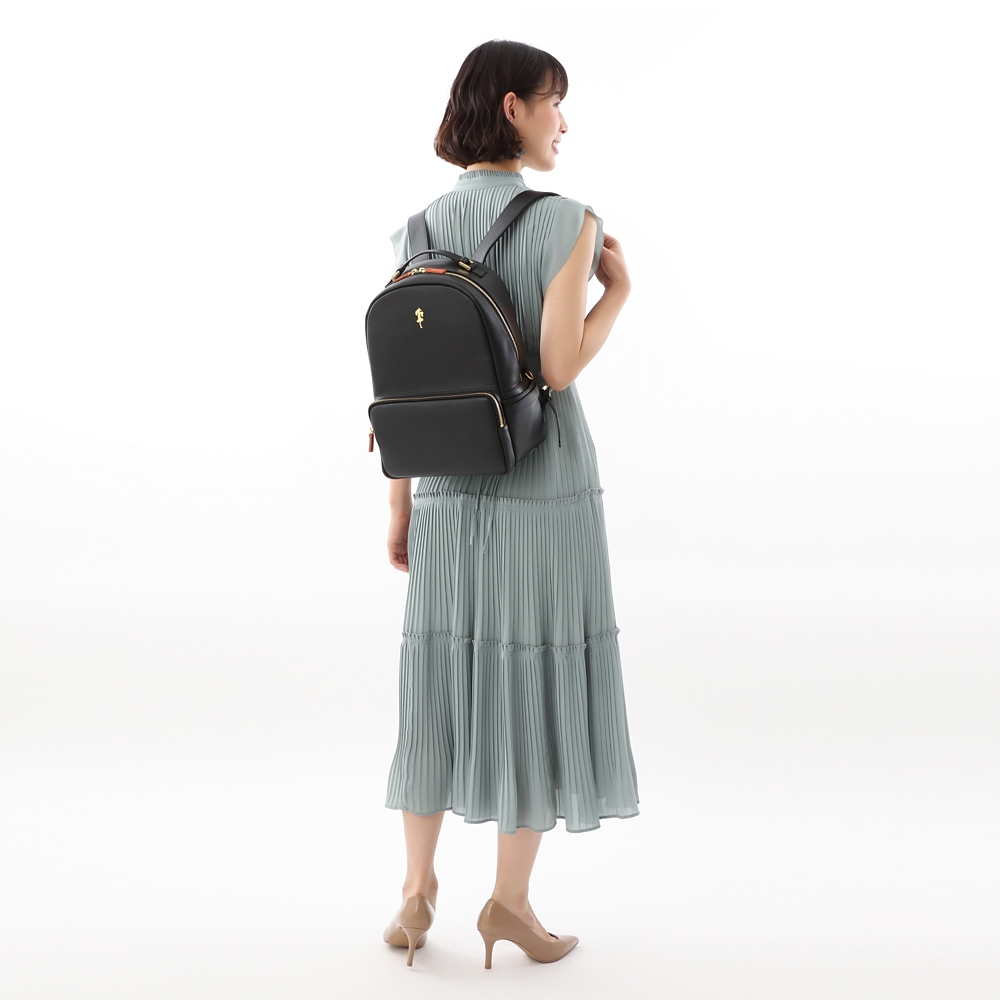 【数量限定】【Plus Anq(プラスアンク)】『くまのプーさん』 ティガー デザイン リュックサック 婦人用【PlusAnq shopDisney1year】