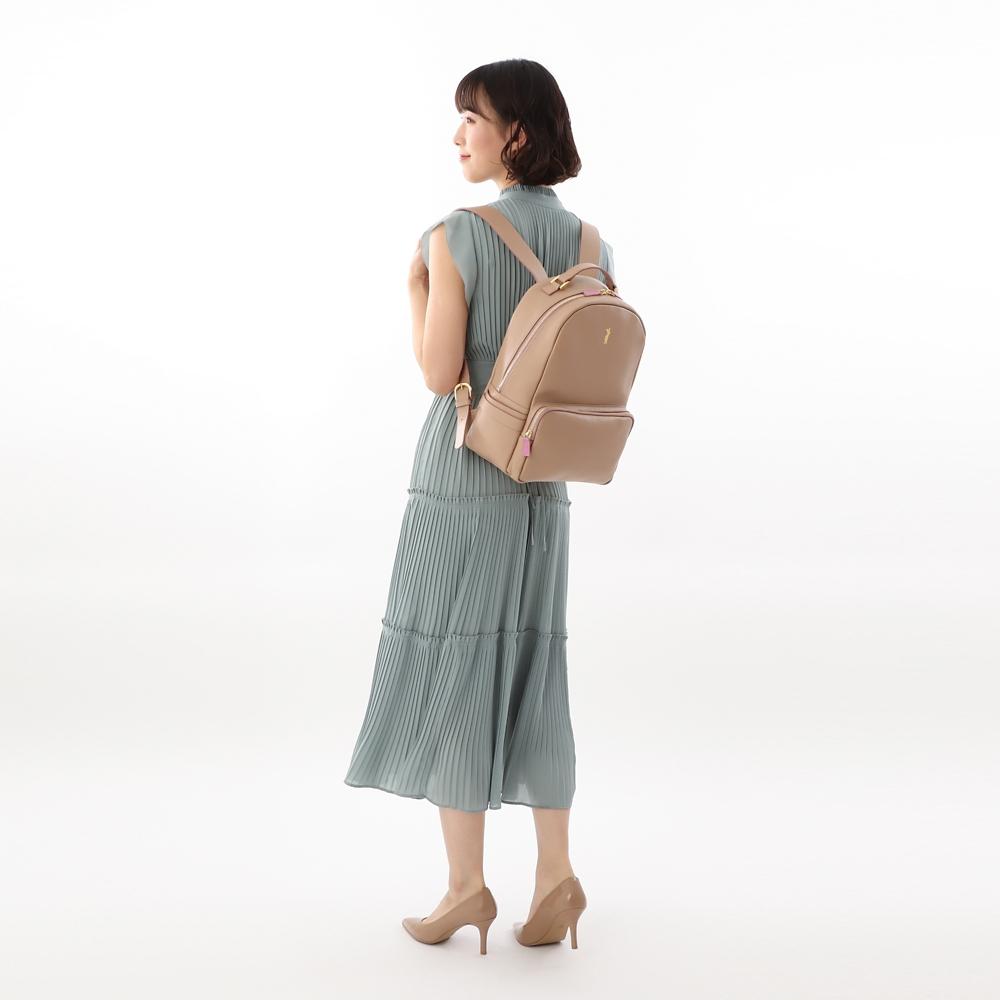 【数量限定】【Plus Anq(プラスアンク)】『くまのプーさん』 ピグレット デザイン リュックサック 婦人用【PlusAnq shopDisney1year】