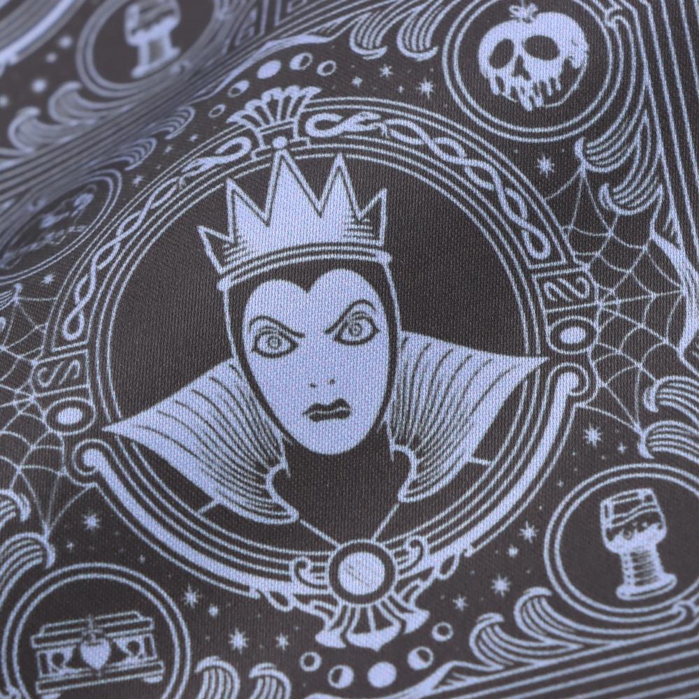 """【数量限定】【Plus Anq(プラスアンク)】ディズニーヴィランズ """"女王(魔女)"""" デザイン 巾着 大小2枚組 婦人用"""