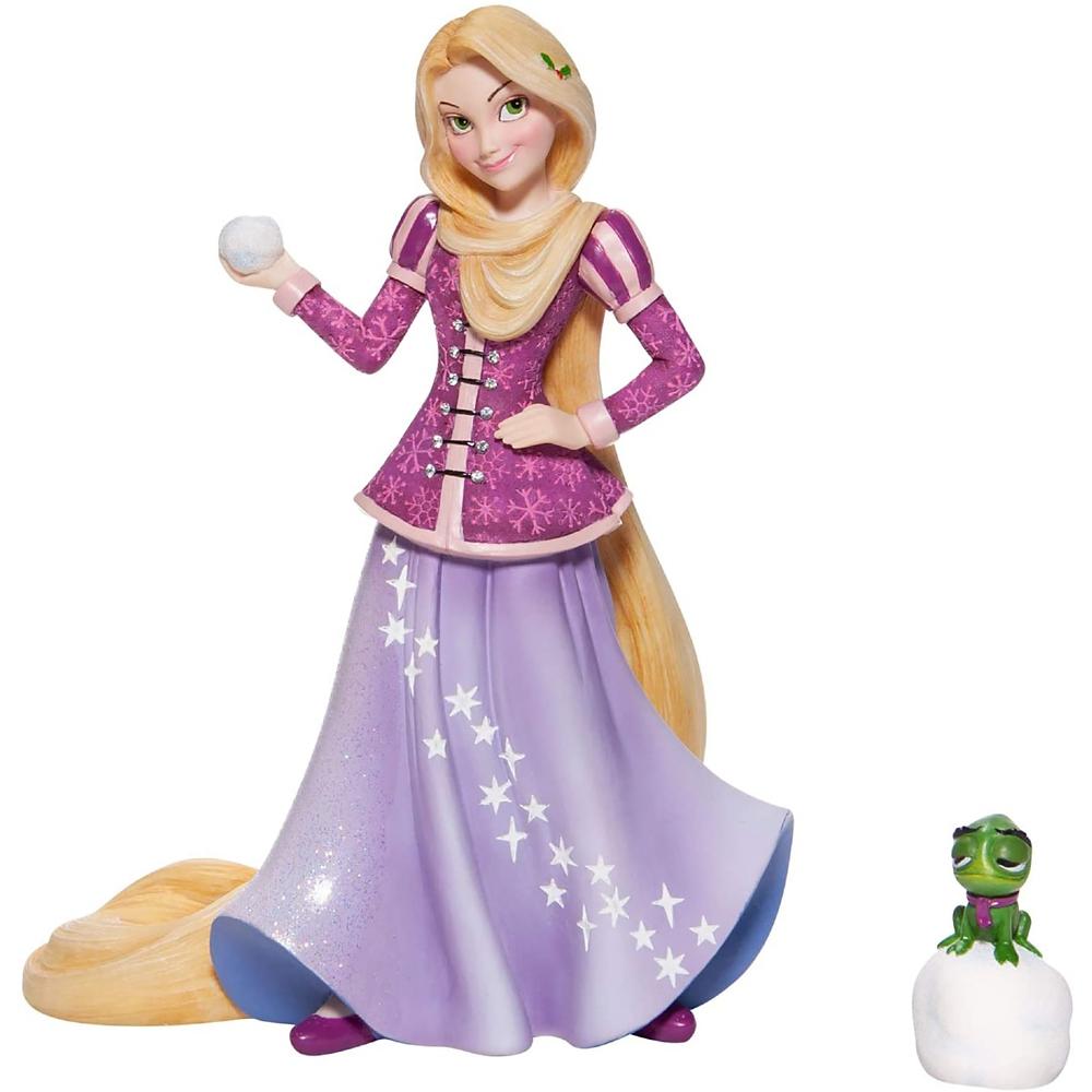 【送料無料】【enesco】ラプンツェル&パスカル フィギュア Snow DISNEY SHOWCASE