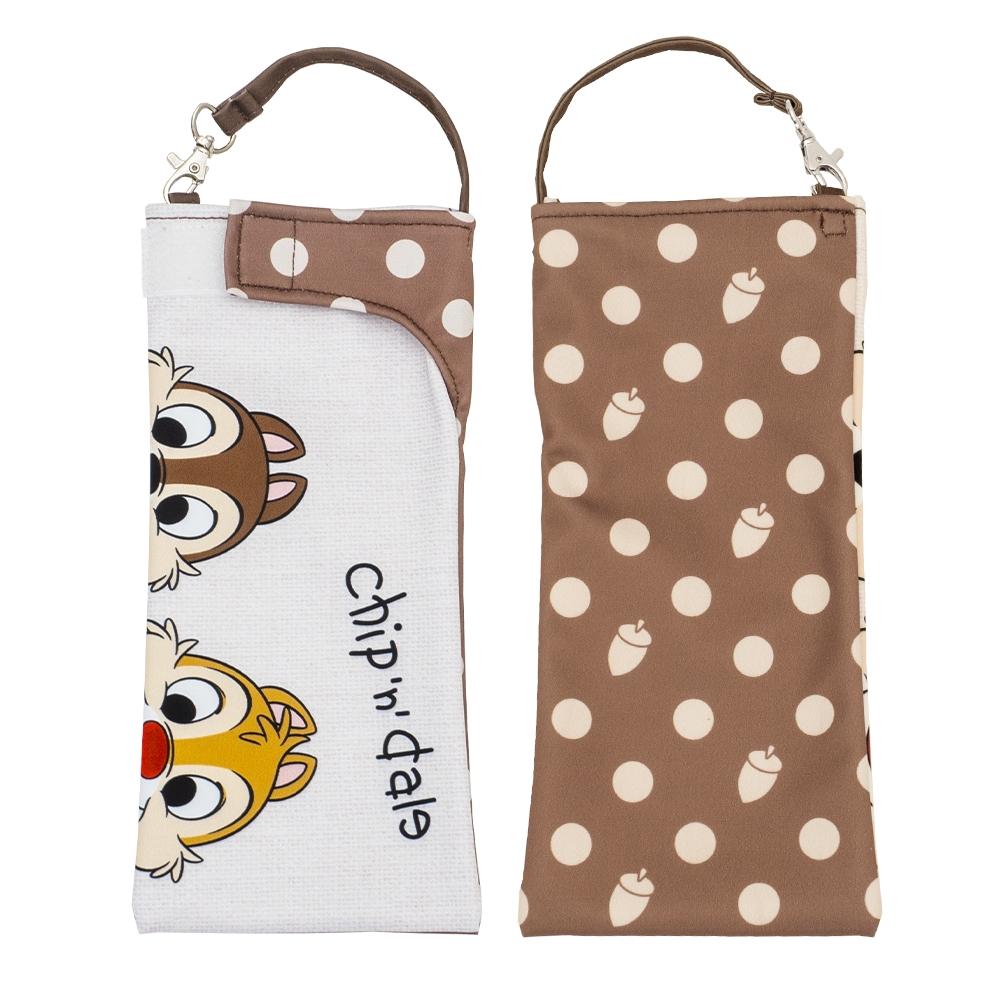 【shopDisny限定商品】折りたたみ傘カバー くるポン ディズニー  チップ&デール フェイス