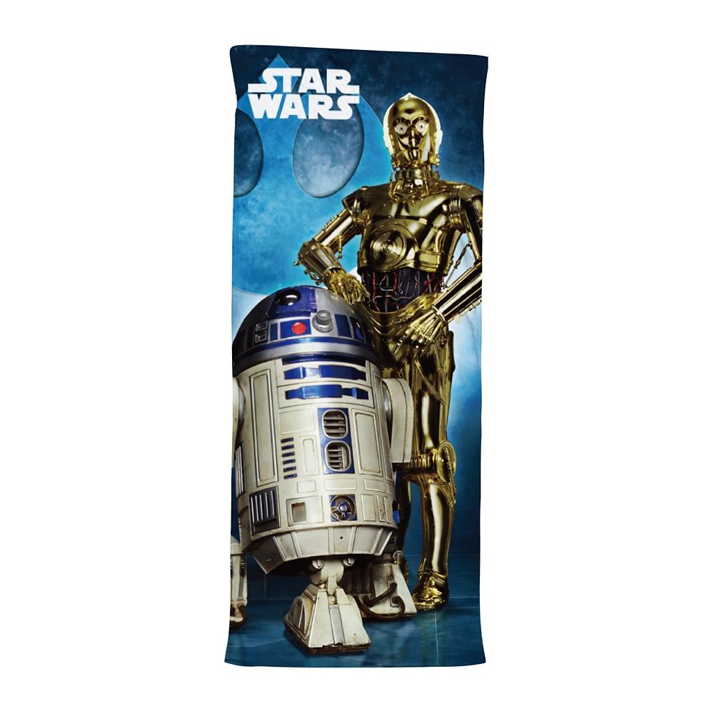 ハイブリッドタオル R2-D2&C-3PO