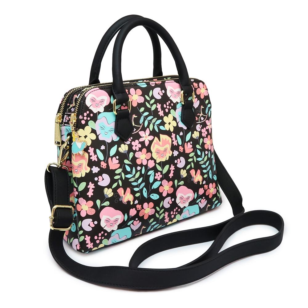 【Loungefly】花たち ハンドバッグ ふしぎの国のアリス