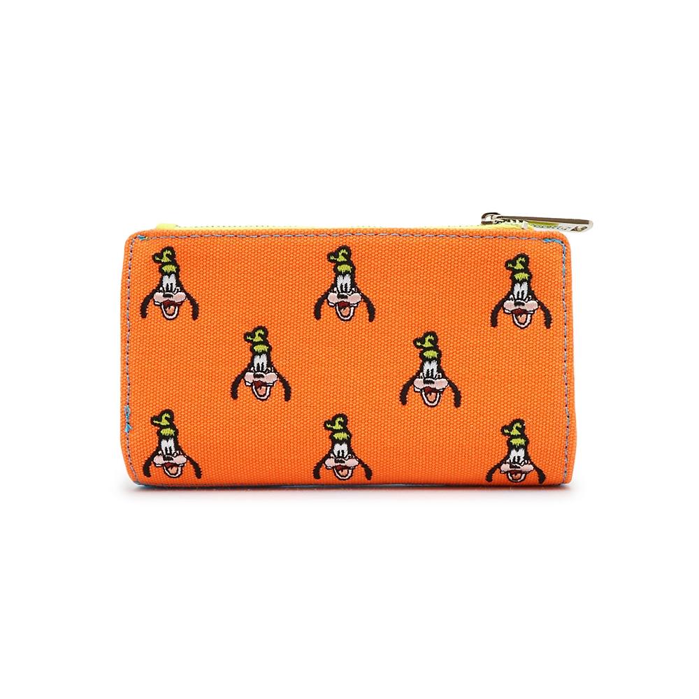 【Loungefly】グーフィ― 財布・ウォレット 刺繍