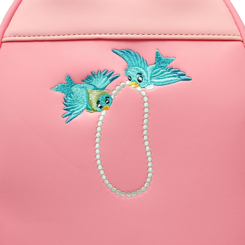 【送料無料】【Loungefly】シンデレラ ミニリュック ピンクドレス 70周年