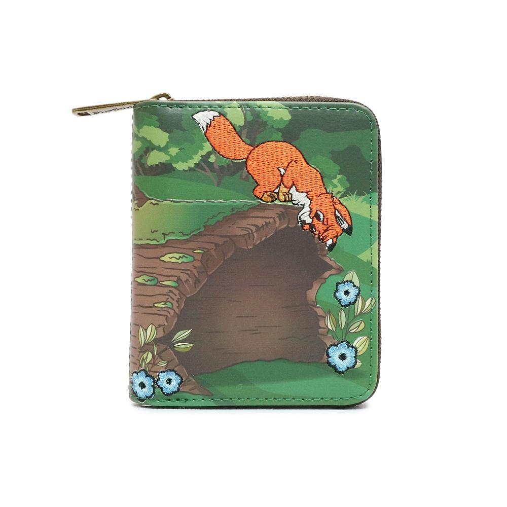 【Loungefly】トッド&コッパー カードケース きつねと猟犬